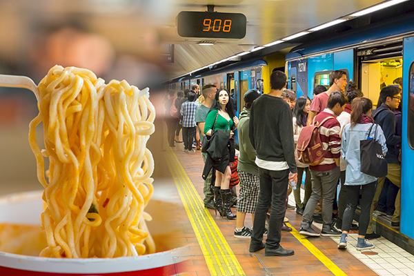 Article image for Noodles? The bizarre ideas considered by the state government to ease train congestion