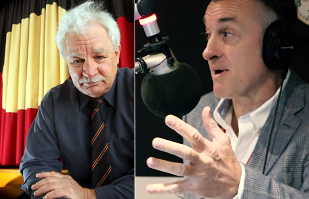 Article image for Tom Elliott and Indigenous leader clash over proposal to 'guarantee' Aboriginal seats in parliament