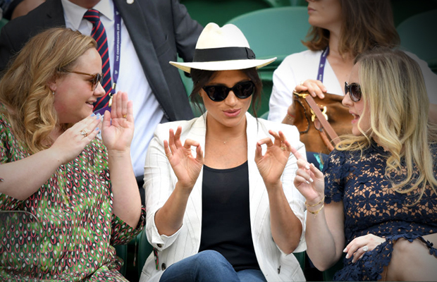 Article image for 'Completely out of line': Meghan Markle courts controversy over tennis incident