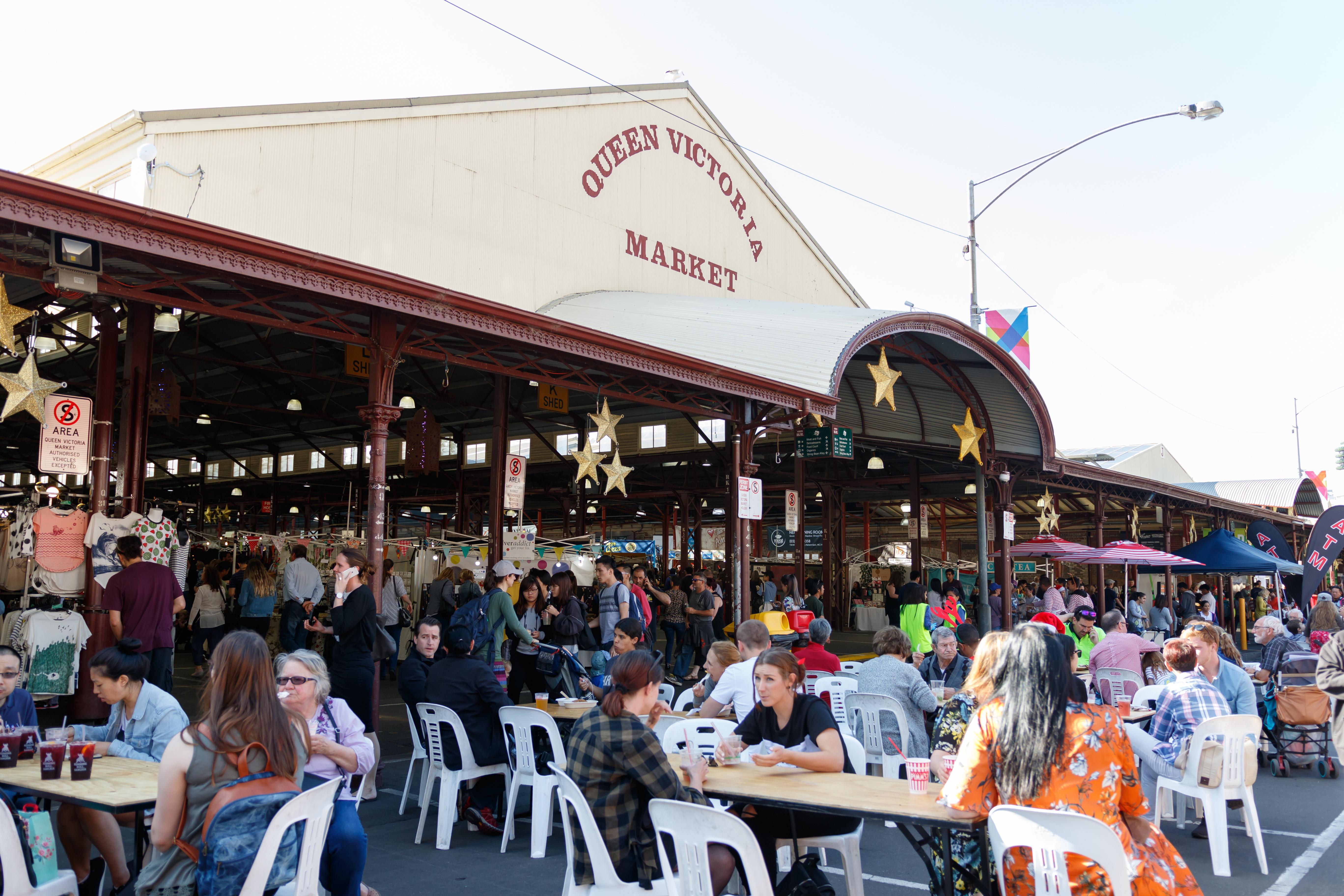 Queen Victoria Market is heading online