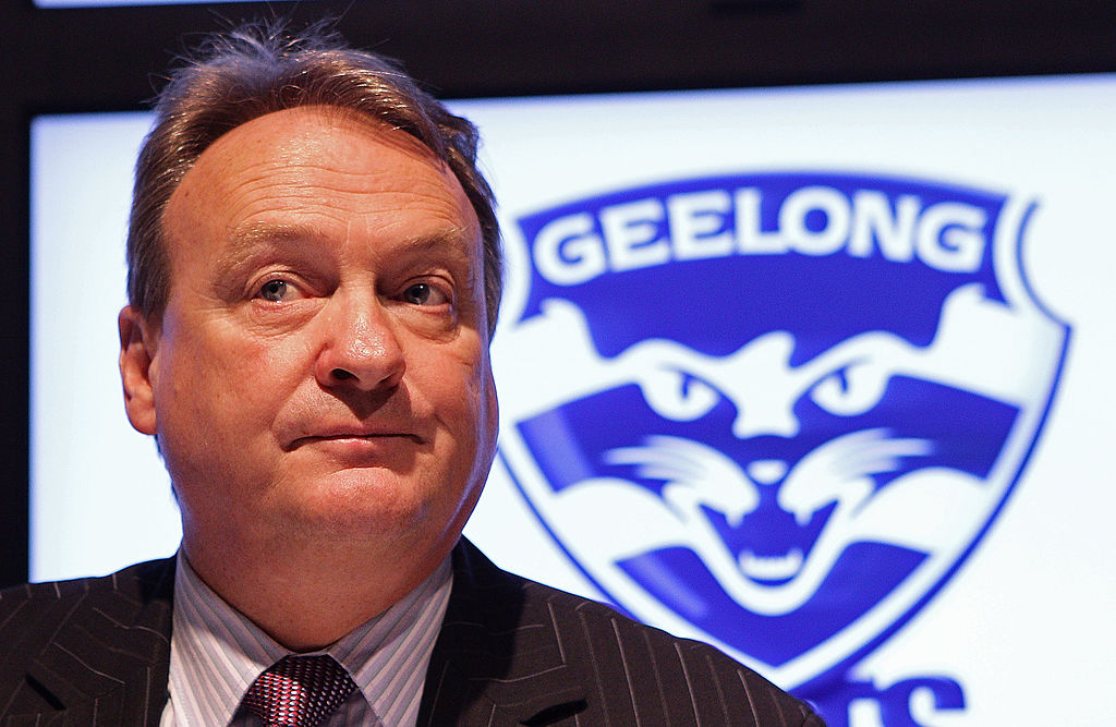 Article image for Cats chief says final at Geelong is 'still a possibility'