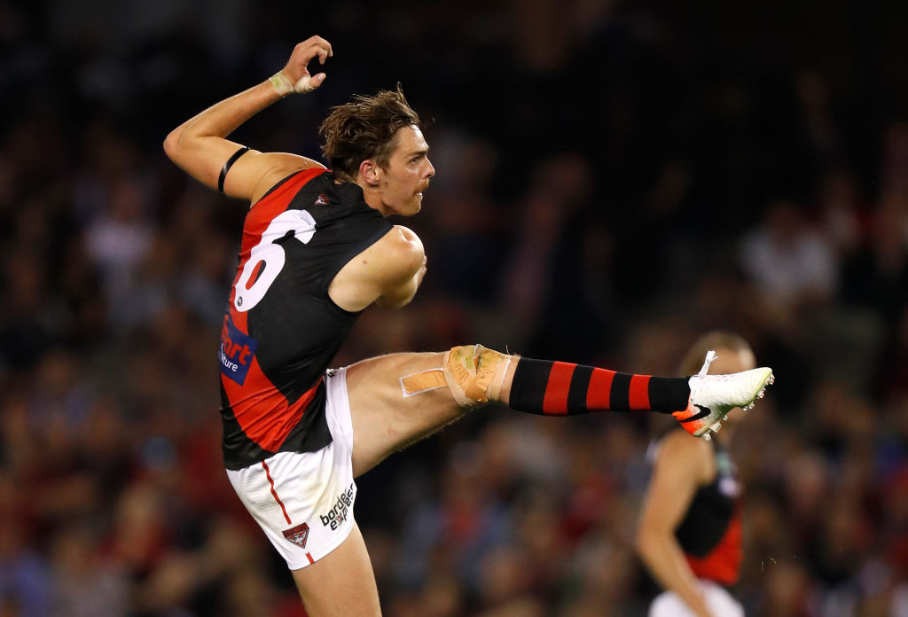 Article image for Daniher checks in with an injury update