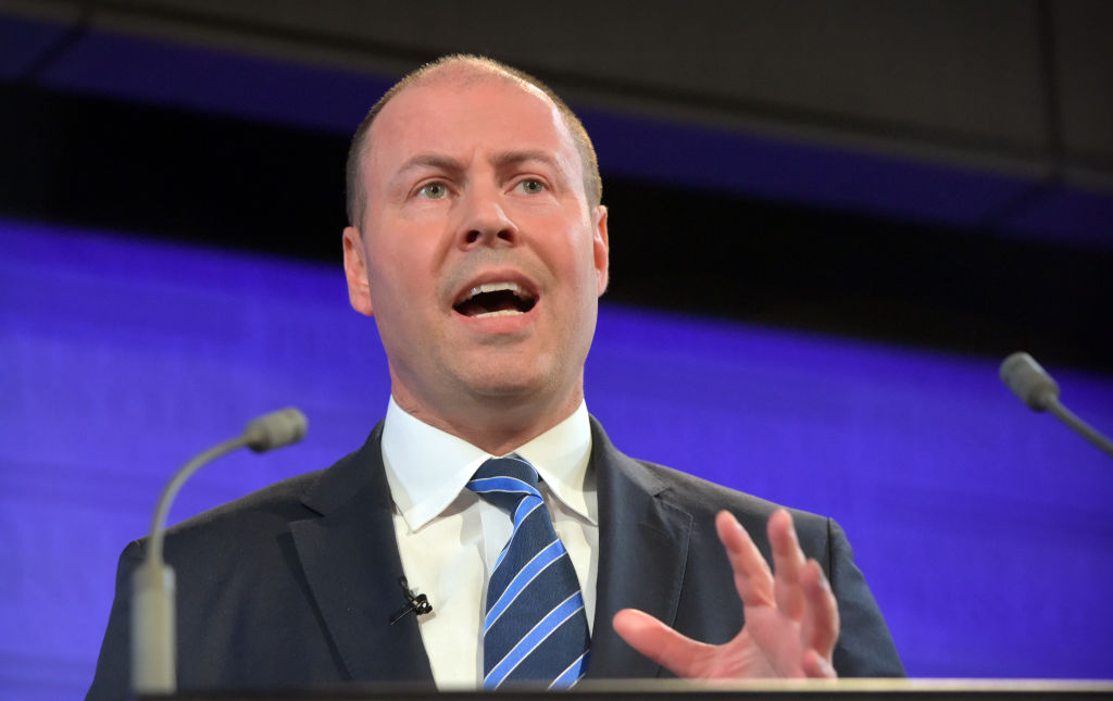 Article image for Treasurer Josh Frydenberg 'confident' about the strength of the Australian economy amid recession fears