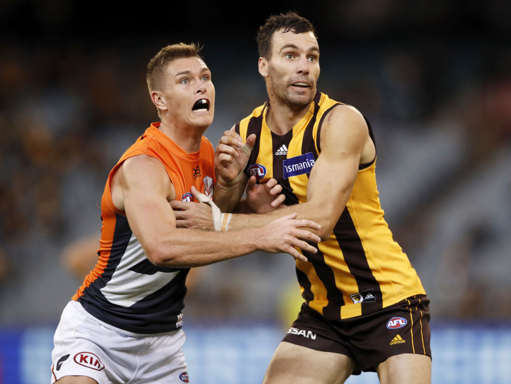Article image for Hawthorn snowball to a massive win over GWS
