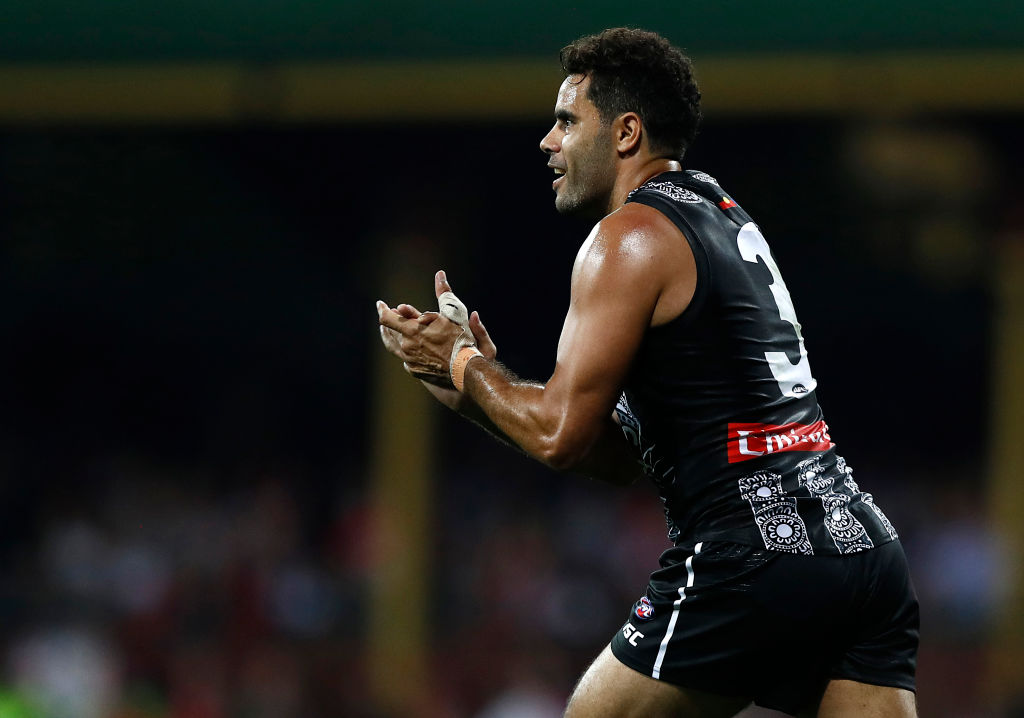 Article image for Daniel Wells could return for Collingwood as soon as this week