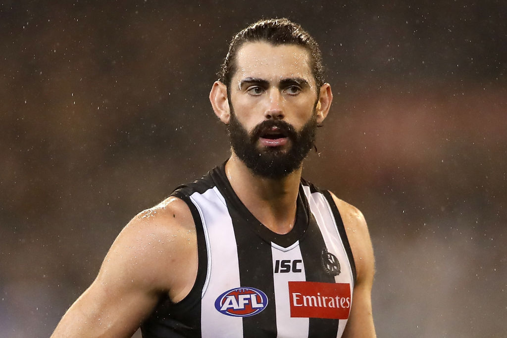 Collingwood star Brodie Grundy just announced his own re-signing
