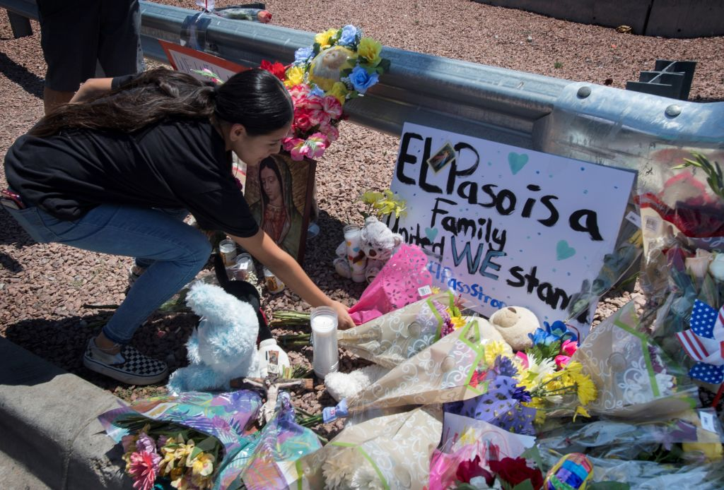 Two US mass shootings leave 29 people dead, security expert says 'eternal vigilance' needed to stop copycat crimes