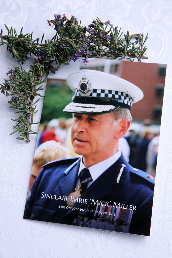 Article image for Sly's touching tribute to 'much loved' former Chief Commissioner Mick Miller