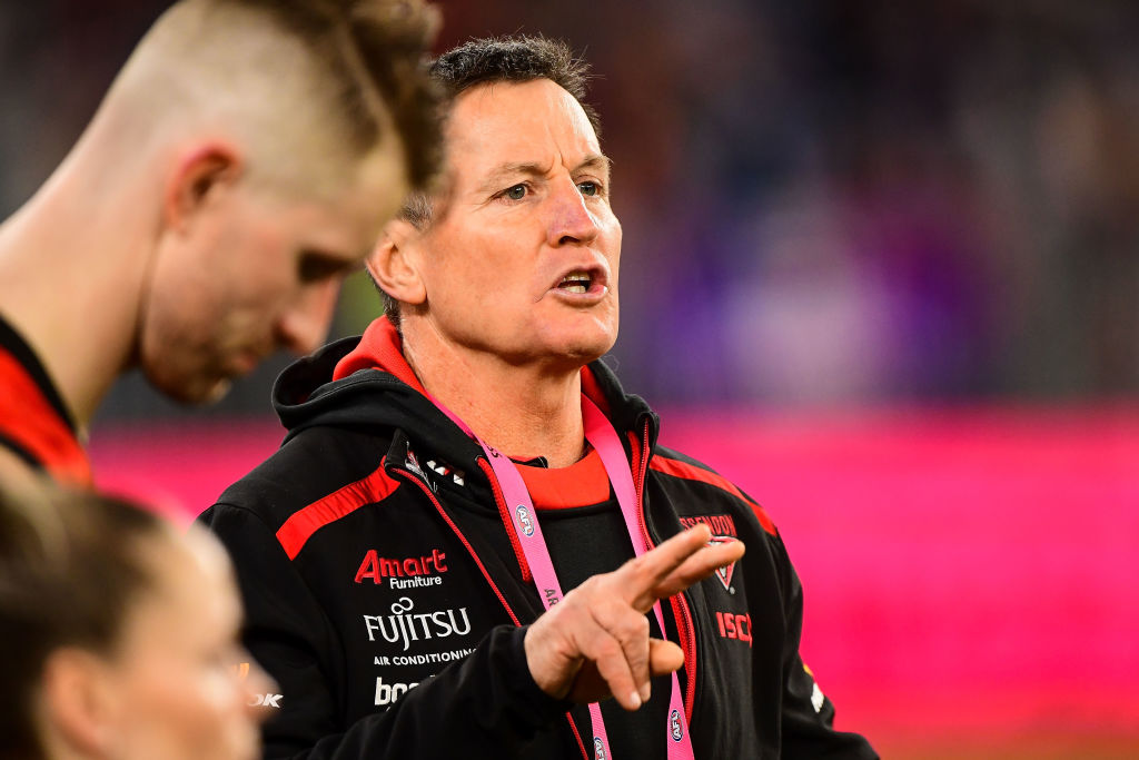 Article image for 'I stand by it 100 per cent': Caro remains firm on Worsfold's uncertain coaching future