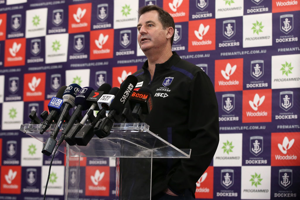 Article image for 'I don't want to torch their reputations': Freo President speaks on the clubs recent sackings