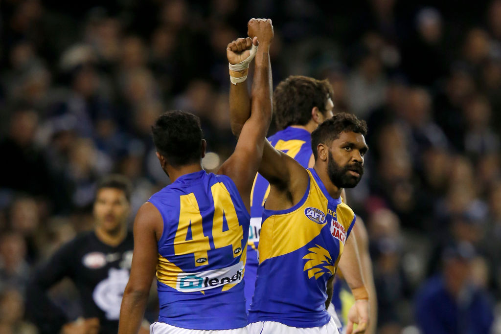 Article image for Eagles prevail after an honest fight from the Blues