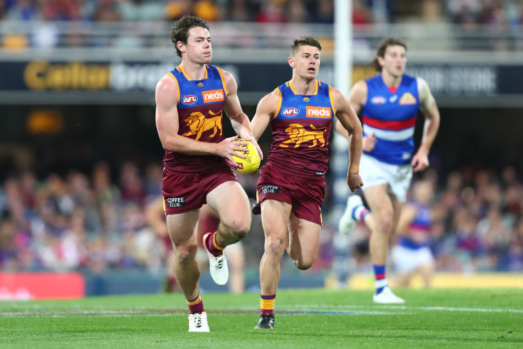 Article image for Lachie Neale names two teammates who've 'really surprised him' this year