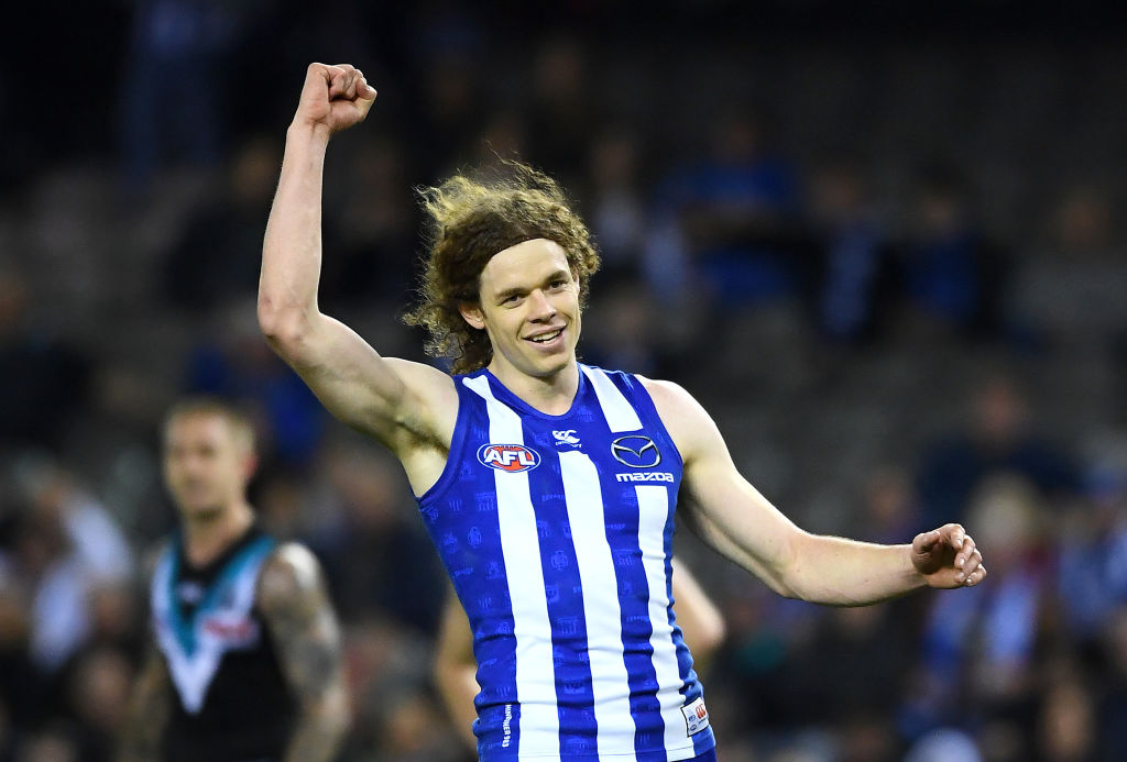 Article image for Ben Brown bags ten goals as North ruins Port