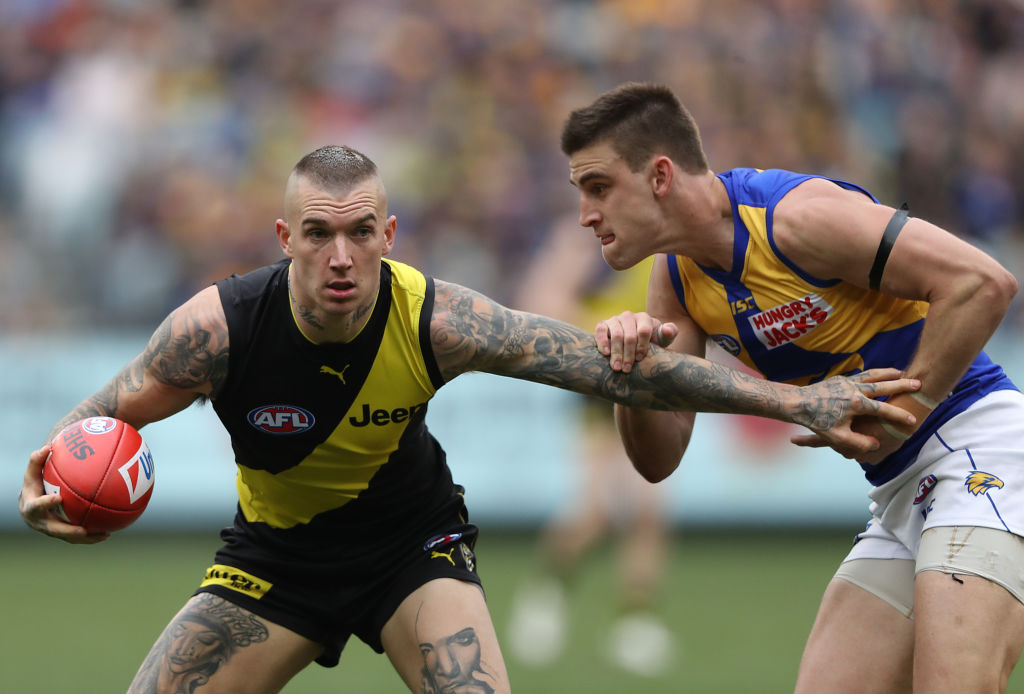 Richmond wins an EPIC against the Eagles to set up thrilling final round
