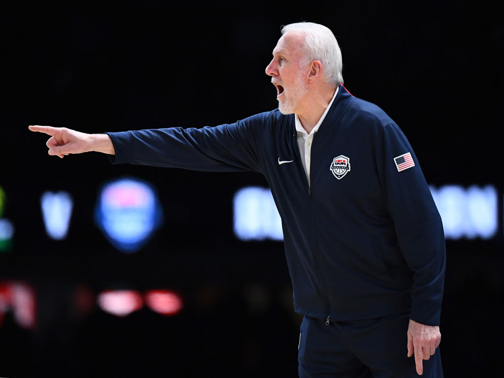 Article image for 'That's a really strange looking ball': Gregg 'Pop' Popovich dropped by for a chat