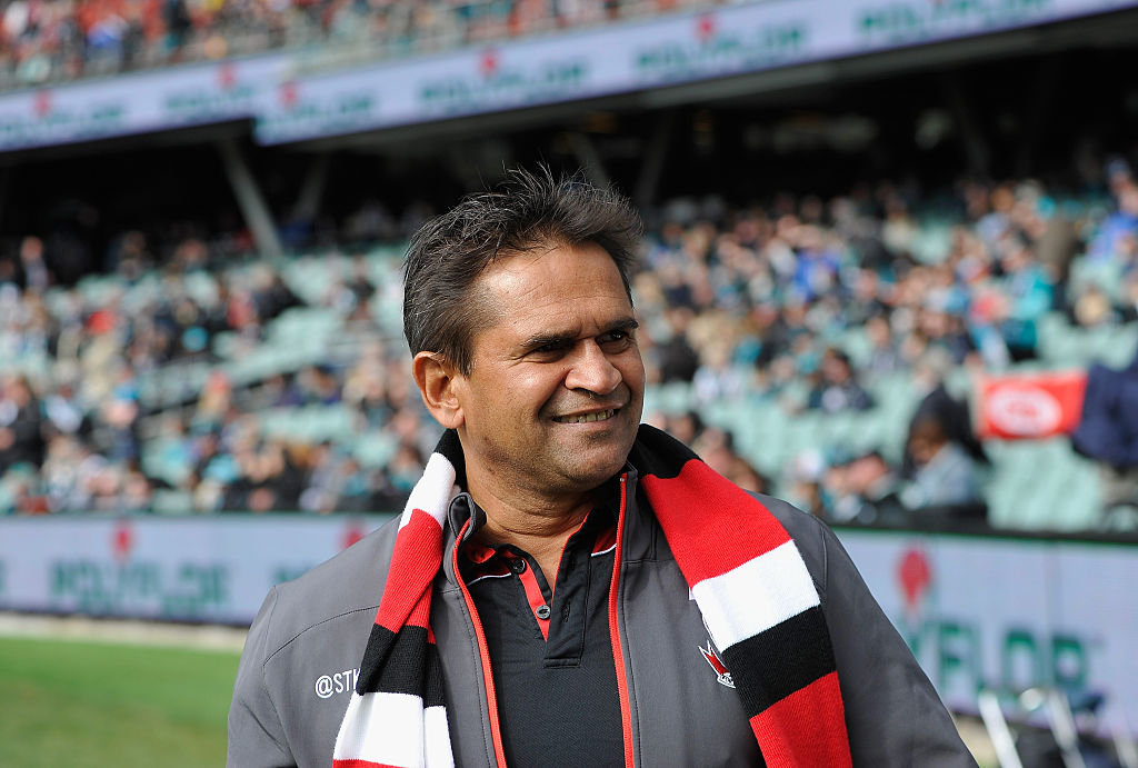 Article image for AFL great Nicky Winmar pleads guilty to assault