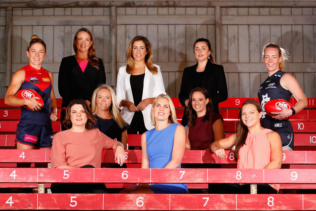 Article image for 'The audience now is changing': Former broadcast head calls for a female voice to front AFL commentating