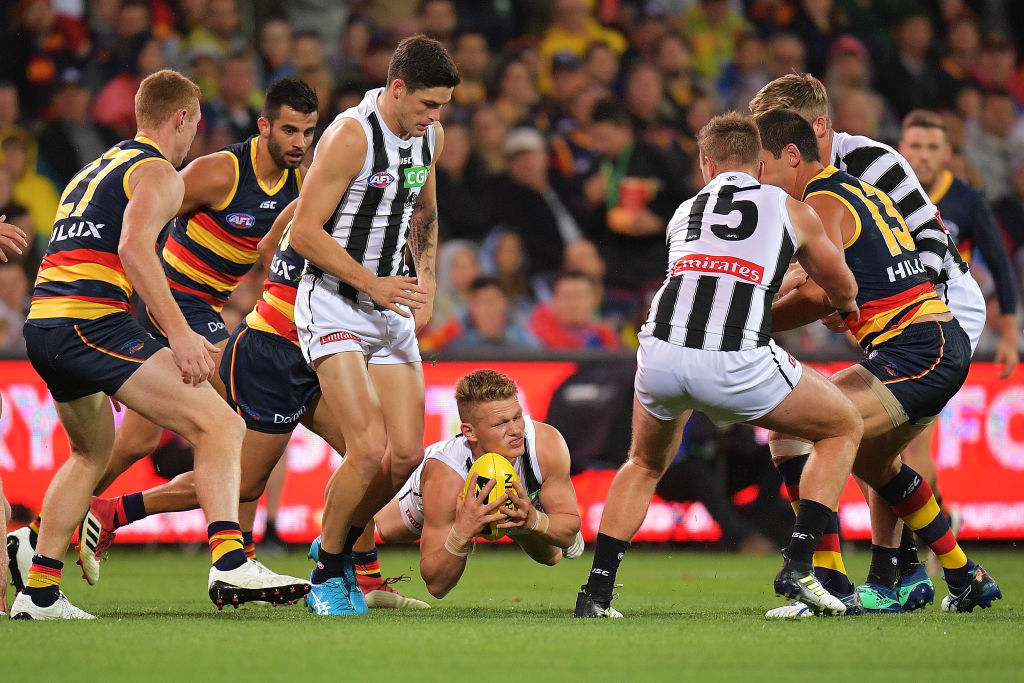 The Pies prove they are still contenders for the flag destroying the Crows