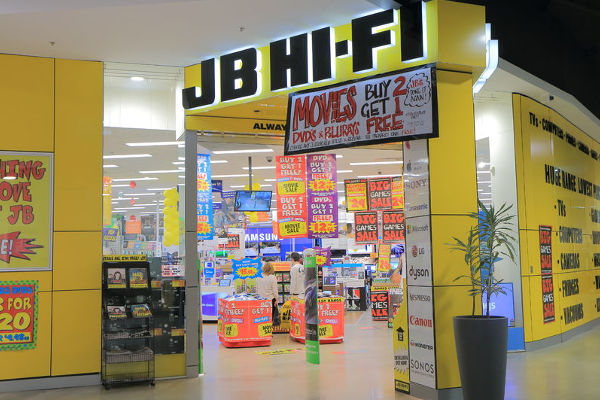 Article image for JB Hi-Fi CEO 'stoked' with company's performance during pandemic
