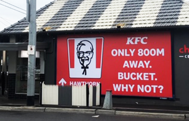 Article image for 'So upset': Outrage over ruthless KFC ad targeting the 'small bloke'
