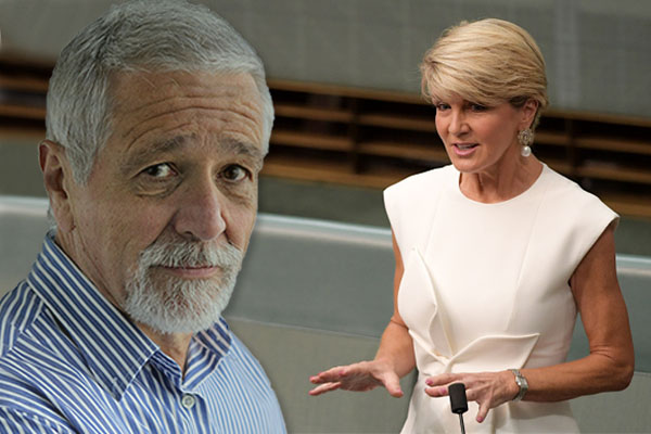 Article image for Neil Mitchell says Julie Bishop 'played the gender card' in TV interview