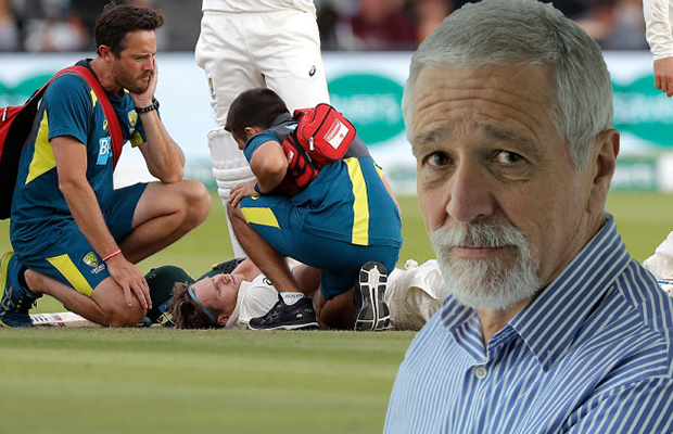 Article image for Neil Mitchell says cricket's concussion protocol needs reviewing