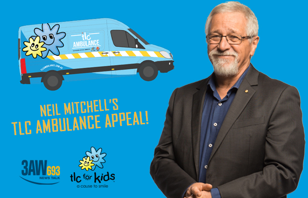 Article image for THANK YOU! Neil Mitchell's TLC Ambulance Appeal was an AMAZING success