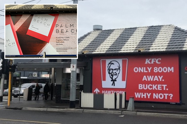 Article image for 'It's gone!': Victory for family chicken shop after ruthless KFC ad taken down