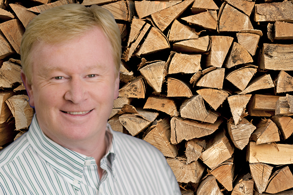 Article image for 'Bang! It completely seized up': Denis Walter's wood chopping incident