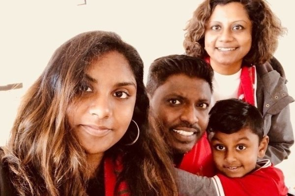 'I still can't believe the news': The Rajasegaran family have been granted permanent residency
