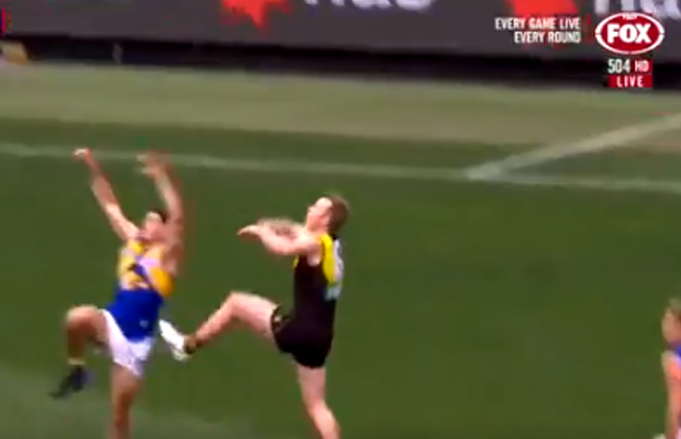 Article image for 'Studs up' marking debacle: AFL changes the rule for final round