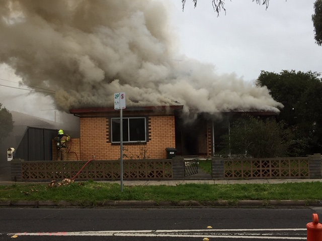 St Albans home engulfed by fire