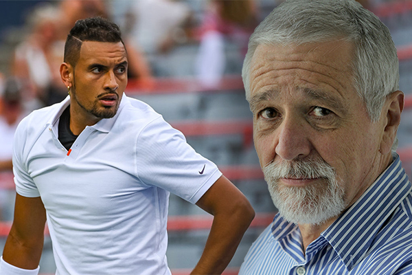 Article image for 'He should be thrown off the tennis circuit': Neil Mitchell says Nick Kyrgios has gone too far
