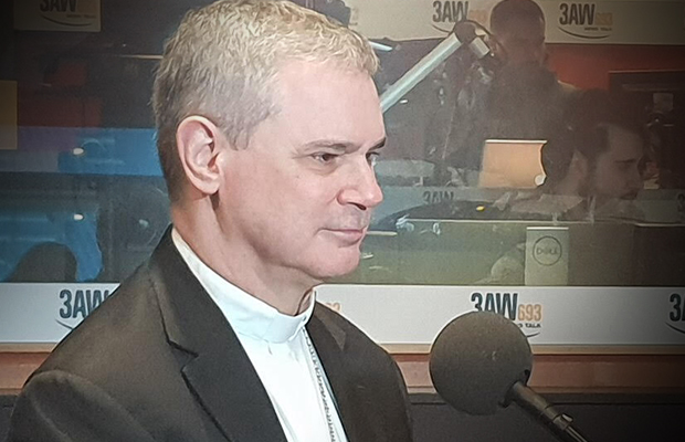 Article image for Melbourne Archbishop says bill to ban conversion therapies 'way oversteps the mark'