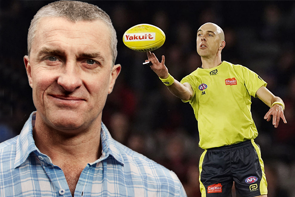 Article image for 'What if we paid them properly?': Tom Elliott's idea to stop AFL umpiring blunders