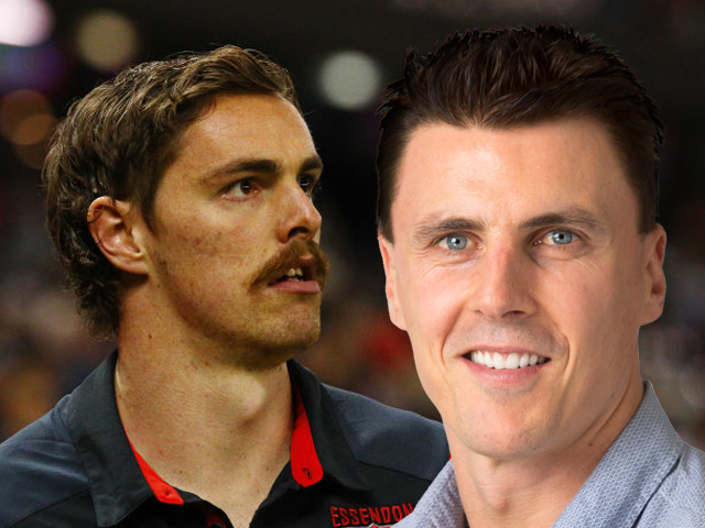 Article image for Why Matthew Lloyd is expecting Joe Daniher to stay at Essendon