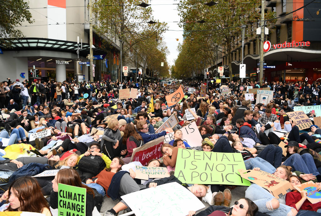 Article image for 'We want to disrupt the entire city': Climate protesters to swarm the CBD