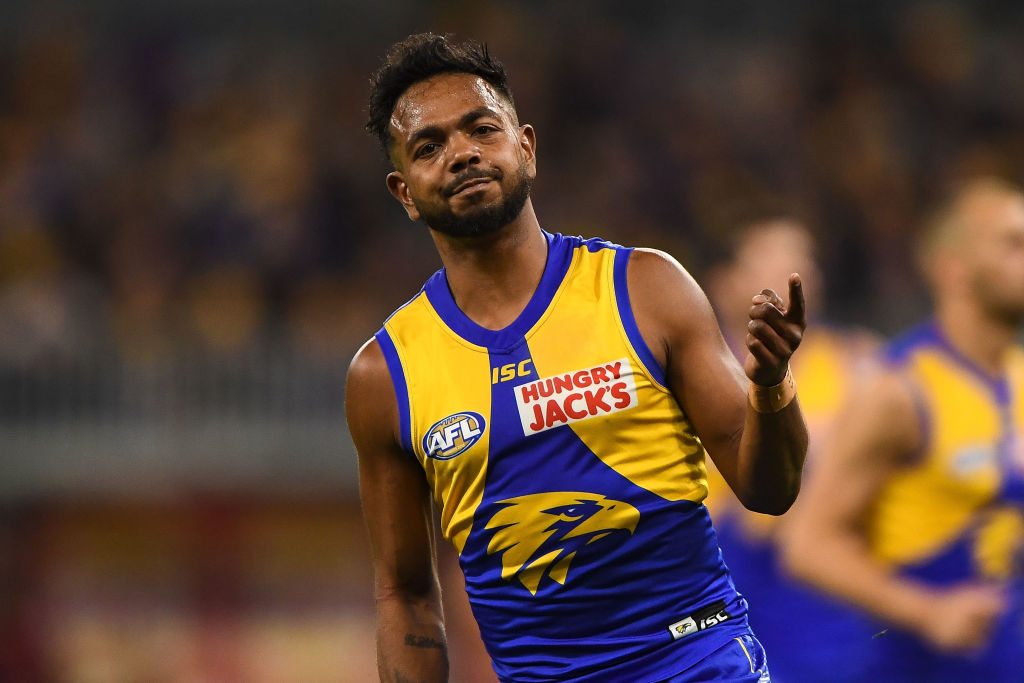 Article image for 'A five-year-old would know': Lloydy and Shawry go head-to-head on Willie Rioli