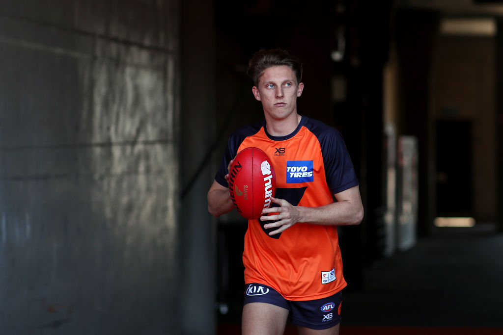 Article image for Lachie Whitfield won't play in Saturday's preliminary final