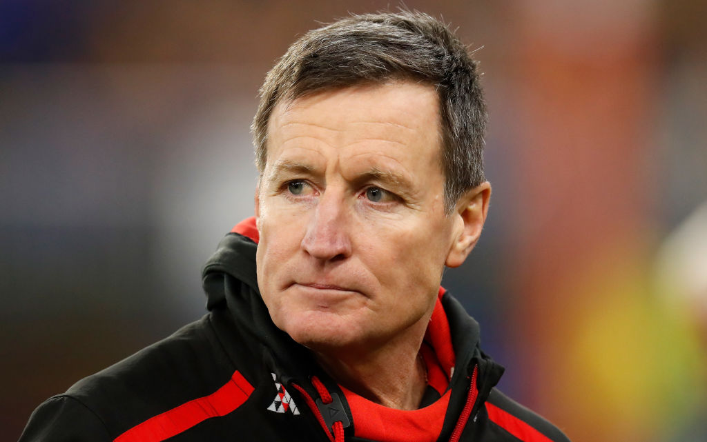 Article image for Essendon confirms next season will be John Worsfold's last as coach