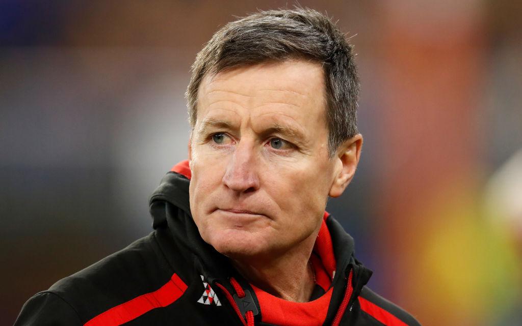 Essendon confirms next season will be John Worsfold's last as coach