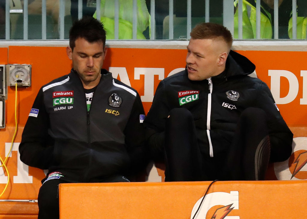 Article image for 'There was a lot of tears in the room after the game': Injury woes confirmed for Pies midfielder