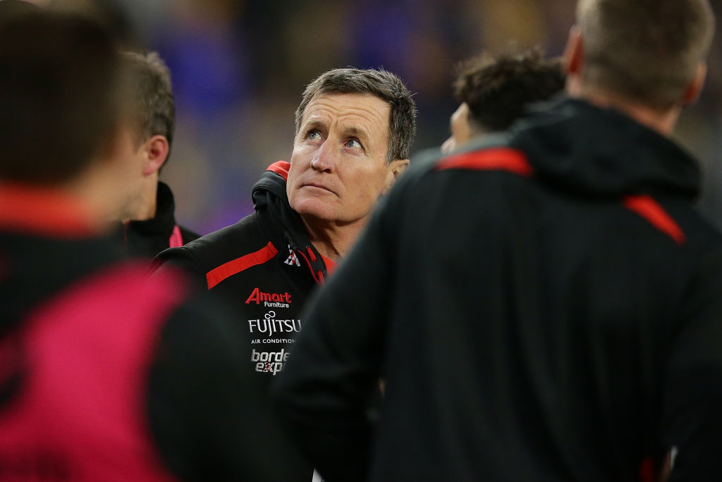 Article image for Collingwood great questions Essendon's coaching succession plan