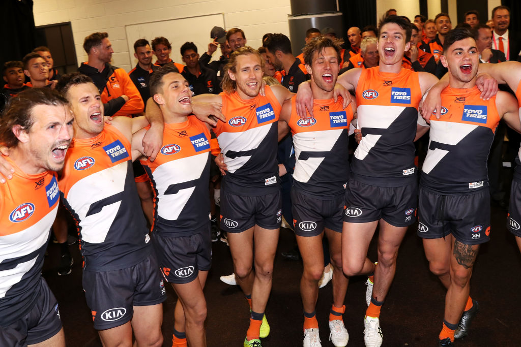 Article image for Giants prove the they are contenders ending the Dogs' season