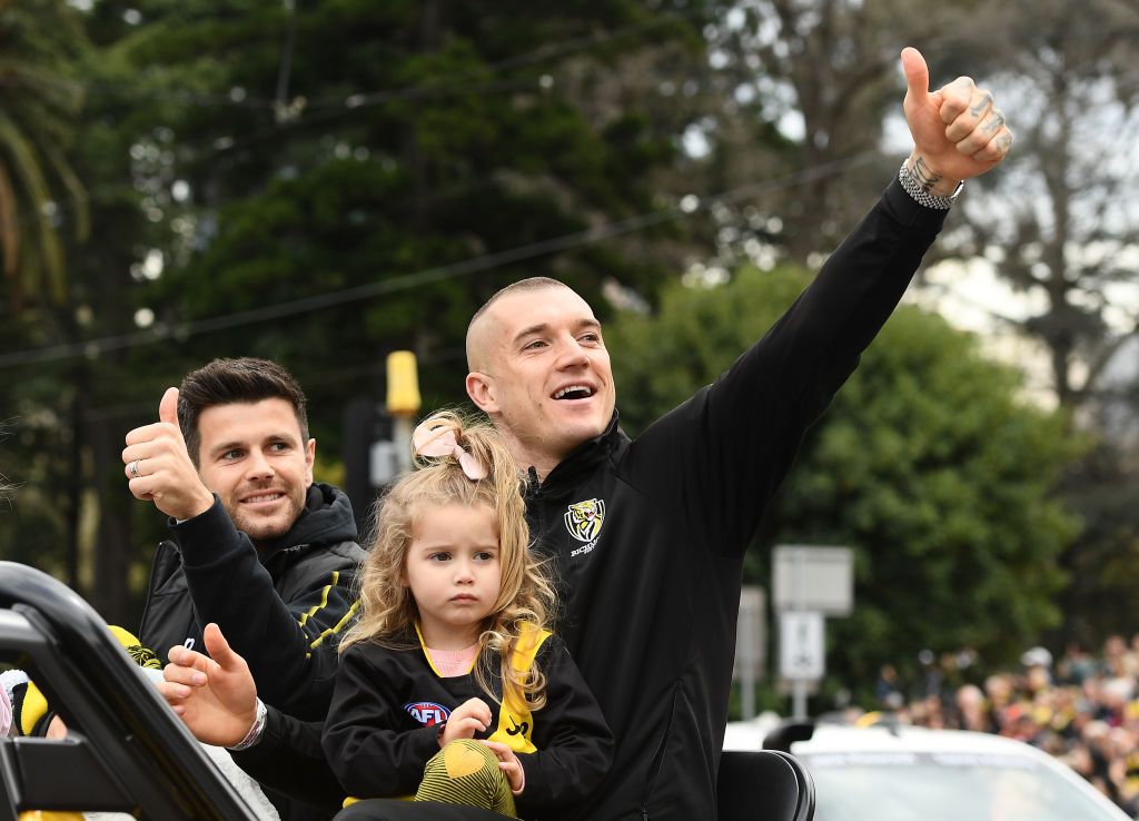 Article image for 'As good as I've seen': Richmond icon's huge call about Dustin Martin