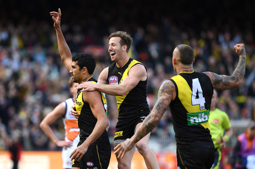 TIGER TIME! Richmond win second premiership in three years