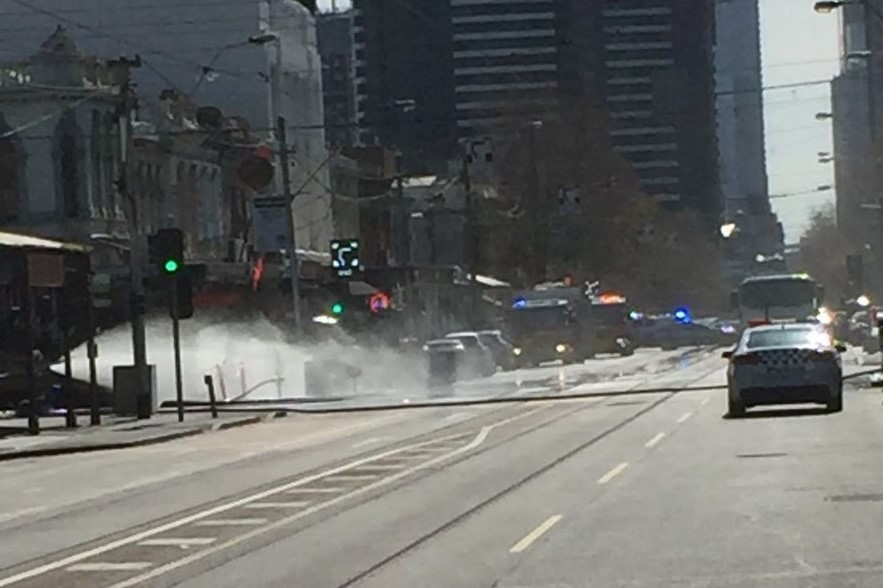 Article image for Huge gas leak forces closure of Clarendon Street