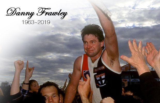 Article image for 'Above all else, he was a very decent man': AFL giant Danny Frawley remembered