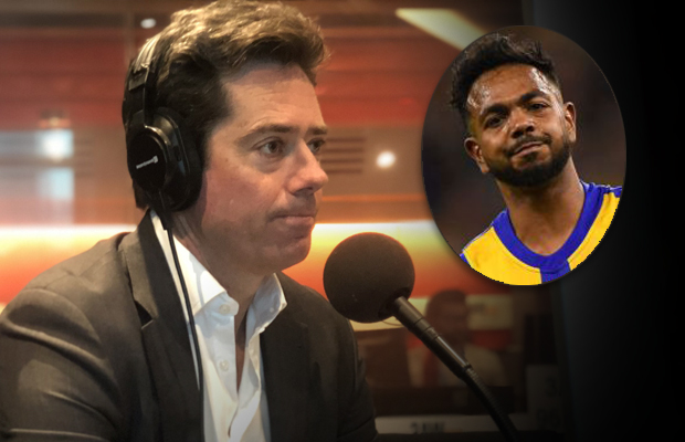 Article image for Willie Rioli's mental health is the AFL's priority: McLachlan