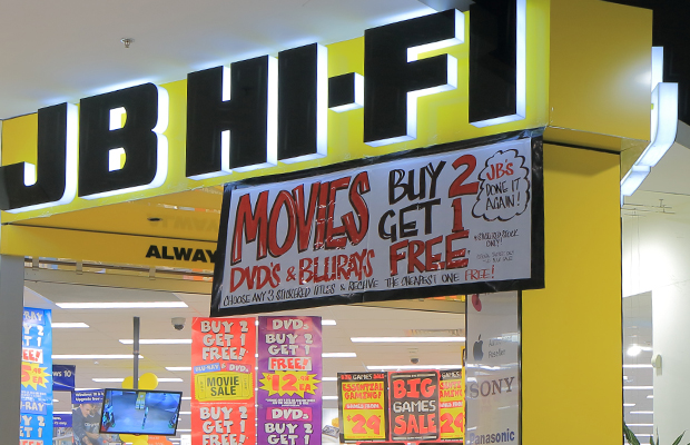 Article image for JB Hi-Fi heists: Staff helpless as gangs target stores across Melbourne